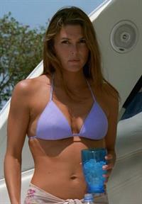 Paige Turco in a bikini