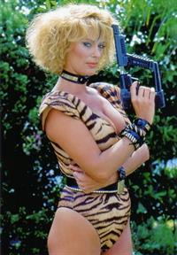 Sybil Danning in a bikini