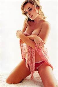 Monica Keena in lingerie