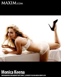 Monica Keena in lingerie - ass