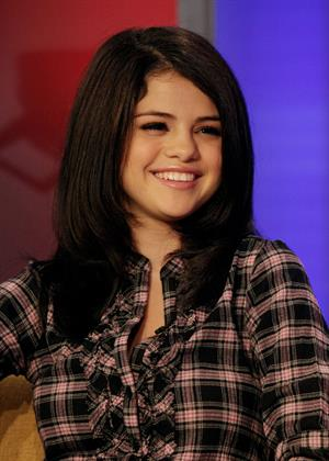 Selena Gomez celebrates her 18th birthday on Fox and Friends on July 22, 2010