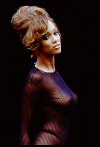 Tyra Banks - breasts