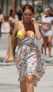 Amy Childs in a bikini