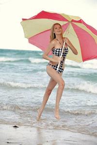 Erin Cummins in a bikini