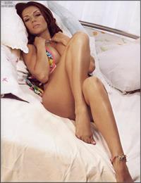 Anna Sedokova in a bikini